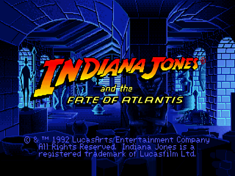 Indiana Jones And The Fate of Atlantis Game