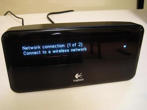 Logitech Squeezebox setup wireles network