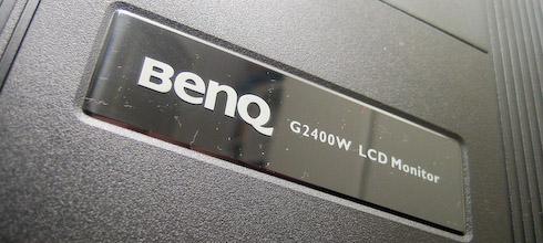 BenQ G2400W takateksti