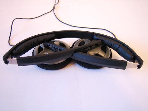Sennheiser PX 100 kuulokkeet kasassa