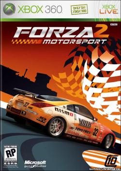 Forza Motorsport 2 kansikuva
