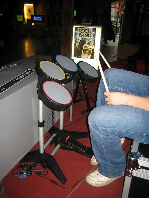 Toys4Boys Rock Band rummut