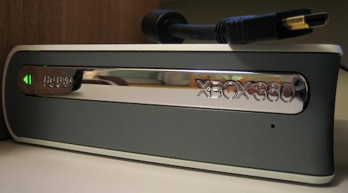 Xbox HD DVD asema edestä
