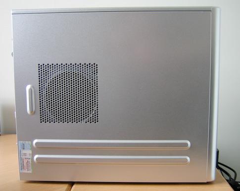Fujitsu-Siemens Scaleo Pi2666 vasen kylki