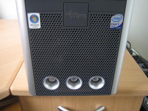Fujitsu-Siemens Scaleo Pi2666 turbiinit