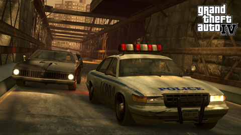 GTA 4 police