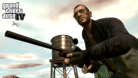 GTA 4 Niko Bellic Sniper