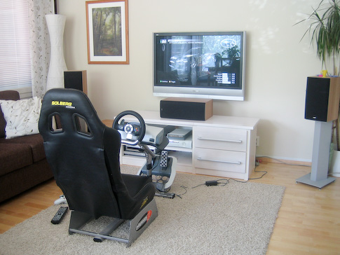 Playseat ja Xbox 360 Wireless Racing Wheel