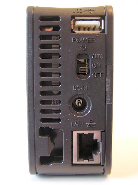 Buffalo LinkStation Mini 1TB takaseinä
