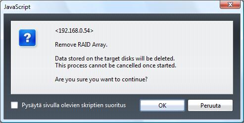 Buffalo LinkStation Mini 1TB raid change