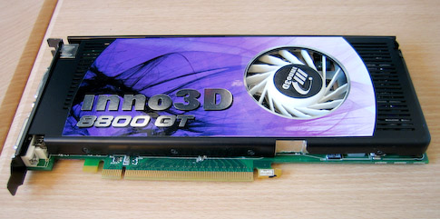 Inno 3D GeForce 8800GT 512 Mt