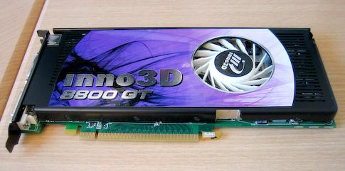 Inno 3D GeForce 8800GT 512 Mt