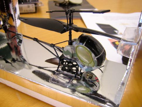 teknikmagasinet minihelikopteri