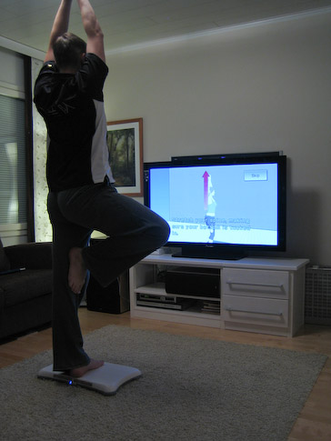 Wii Fit jooga