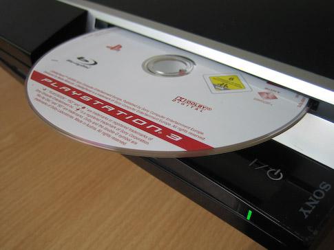 ps3 Blu-ray-asema
