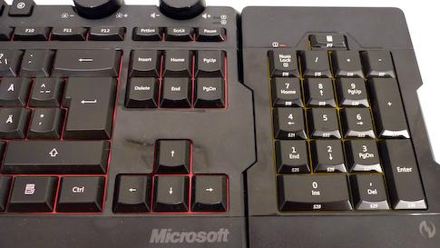 Microsoft X6 numeronäppäimistö